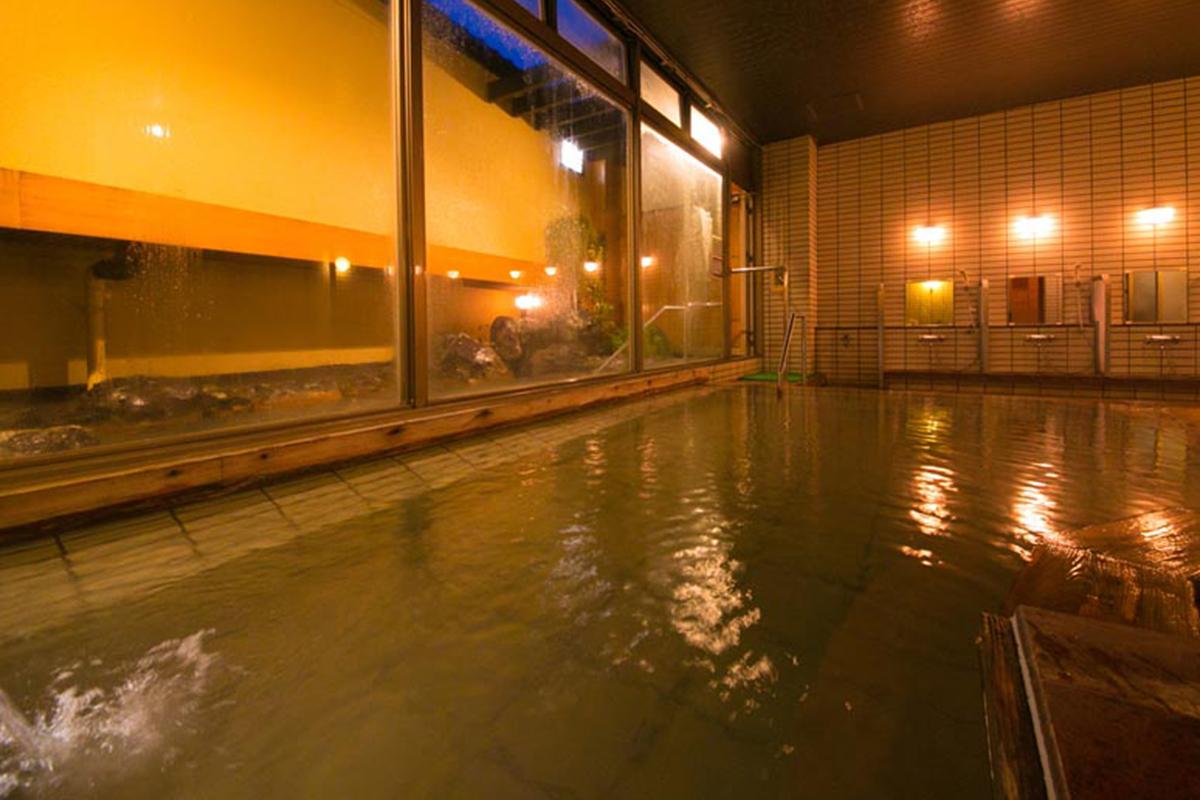 いぶすき秀水園大浴場